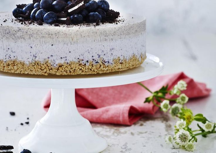 Frozen Oreo cheesecake