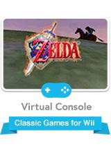 Zelda: Ocarina of Time is probably the best Zelda game out there. I love it! It was the first Zelda game released for the N64, but you can now download it to your Wii to play.
