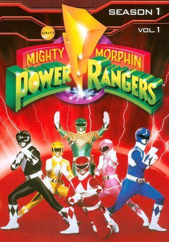 Mighty Morphin Power Rangers: Season 1, Vol. 1 [3 Discs] [DVD]