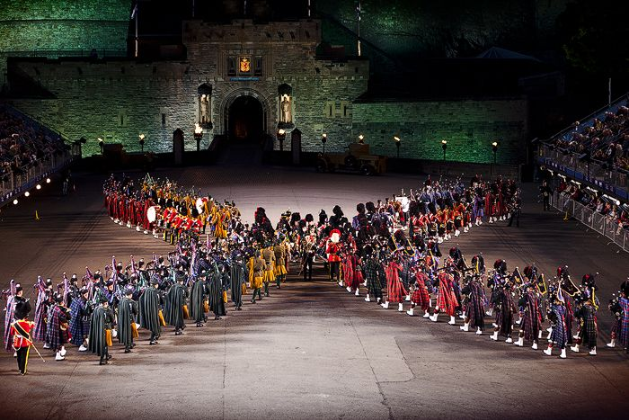 Edinburgh Military Tattoo - included in some of our Group Escorted Tour packages or international specials!