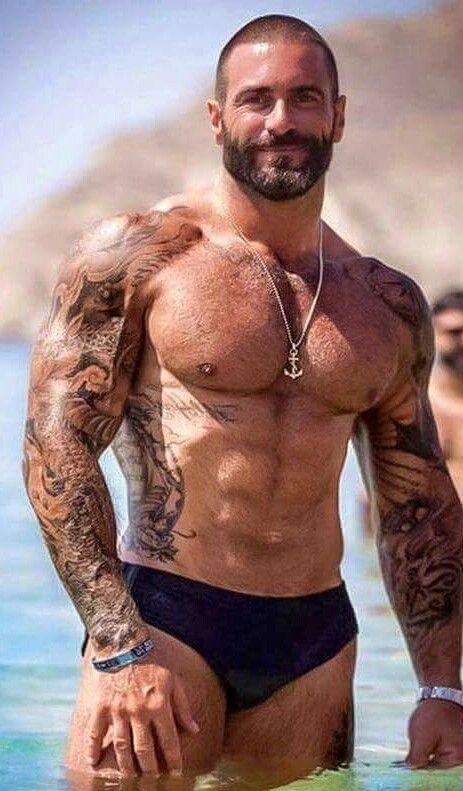552 Best Bearded Studs Images On Pinterest Hairy Men
