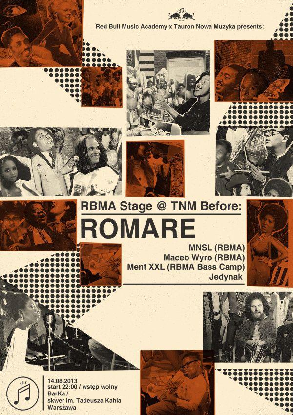 tauron nowa muzyka   posters by Dawid Ryski, via Behance