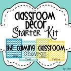 Time to start decorating! This pack is a perfect way to help you decorate your classroom with the chevron theme.  The colors in your room (Yellow, ...