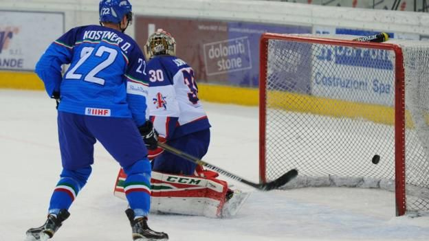 Great Britain miss out on the chance to qualify for the 2018 Winter Olympics after losing to 6-2 to Italy.