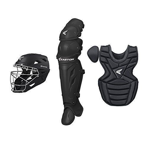Catchers Protection 73911: Easton Girls Fastpitch Catchers Gear Black Ages 13-15 Softball Gear -> BUY IT NOW ONLY: $198 on eBay!