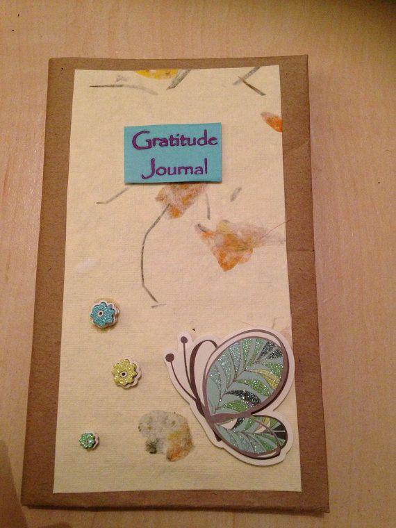 Gratitude Journal by TrudysJournals on Etsy