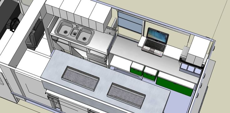 Design concept for food truck the lunch truck biz for Food truck design software