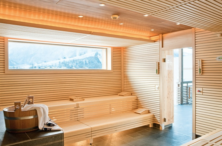 SPA sauna outdoor