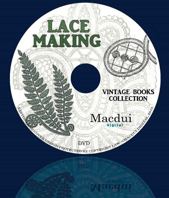 Lace MakingPatternsHonitonMedici  Vintage e-books by MacduiDigital