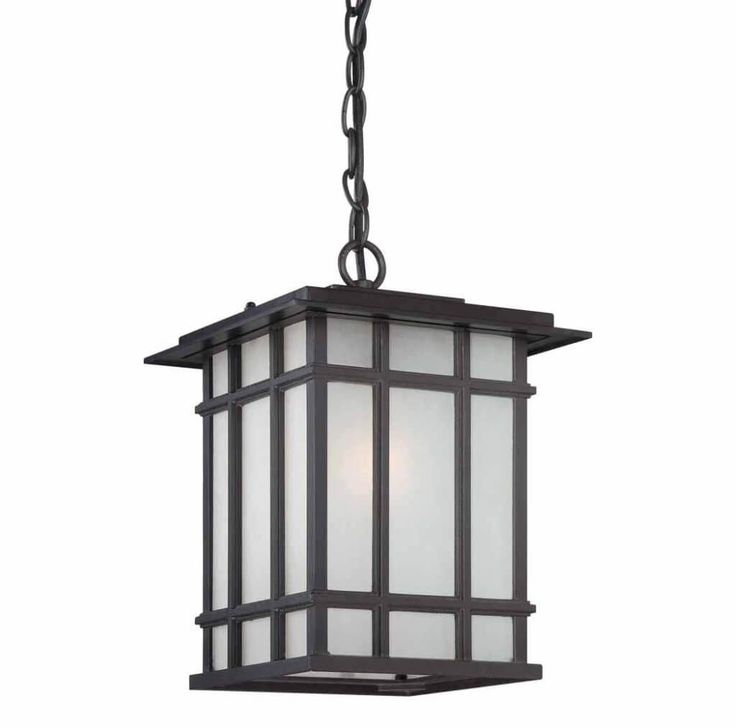 Mission Style Outdoor Pendant Lighting