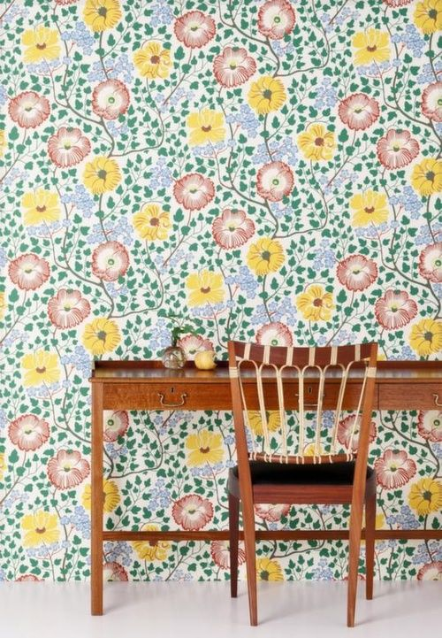 Josef Frank wallpapers from Svenskt Tenn