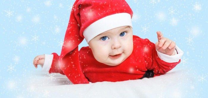 Santa Baby Magic Christmas wallpaper