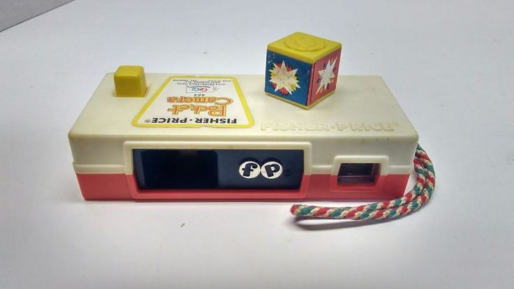 Fisher Price 1974 pocket camera toy #FisherPrice