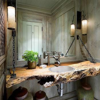 Driftwood Sink Vanity