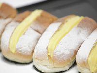 Niederländische pudding broodje's - Puddingbrötchen! Super lecker