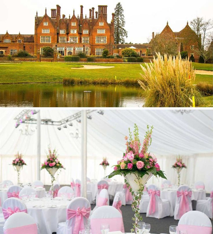 Couples looking for an extremely elegant wedding venue that offer marquee services will truly love Dunston Hall in Norfolk. Its classic British décor makes it a gorgeous home for a traditional wedding with impeccable style. The facilities are so enviable with an 18-hole golf course and spa facilities for you and your guests to enjoy during your stay.