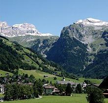 Engelberg is a municipality in the canton of Obwalden in Switzerland. It is an exclave surrounded by the cantons of Bern, Nidwalden and Uri.