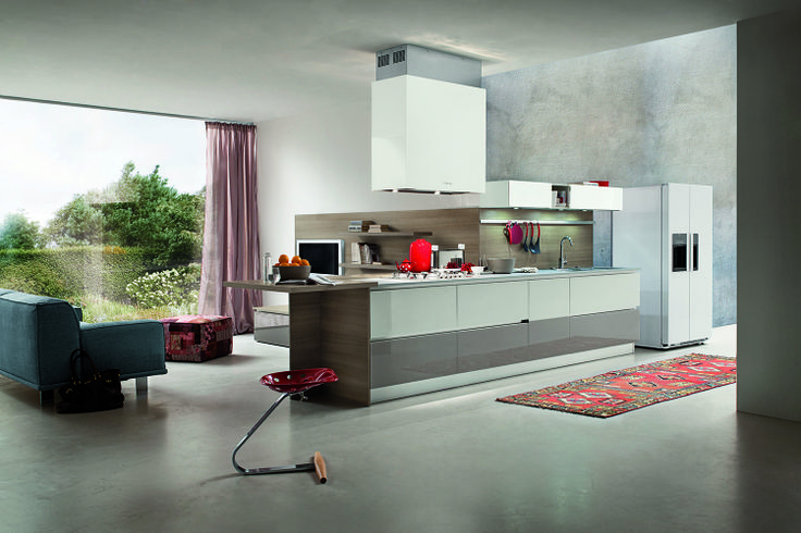 Cucina moderna Myglass di Gicinque  http://gicinque.com/it_IT/products/1/gallery/2/line/67/composition/119