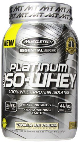 100% ISO whey. Contains only the most rapidly absorbing whey protein isolate and hydrolysate for an immediate supply of anabolic protein. 25g of protein per scoop with less than a gram of fat and onl...
