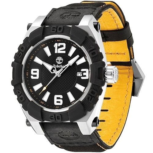 Timberland Hookset TBL.13321JSTB/02B Mens Watch0887038000239      Stainless steel case, silver colored and black coating, mat / polished  Leather / nylon strap, black, pin buckle  Quartz movement, battery operated  Date display  100 meters Water Resistant  Case width ca. 44 mm      Comes with booklet and box.    MSRP: 125,00 EUR | Shop this product here: http://spreesy.com/vampire_clothing/27 | Shop all of our products at http://spreesy.com/vampire_clothing    | Pinterest selling…