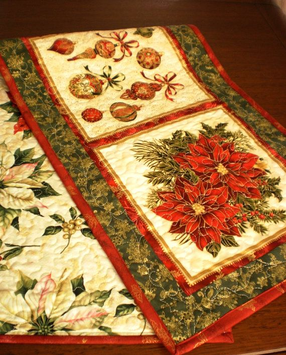 1000 images about christmas runners on pinterest for 10 minute table runner placemats