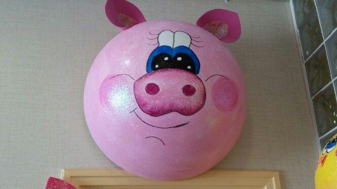 O porco toneladas