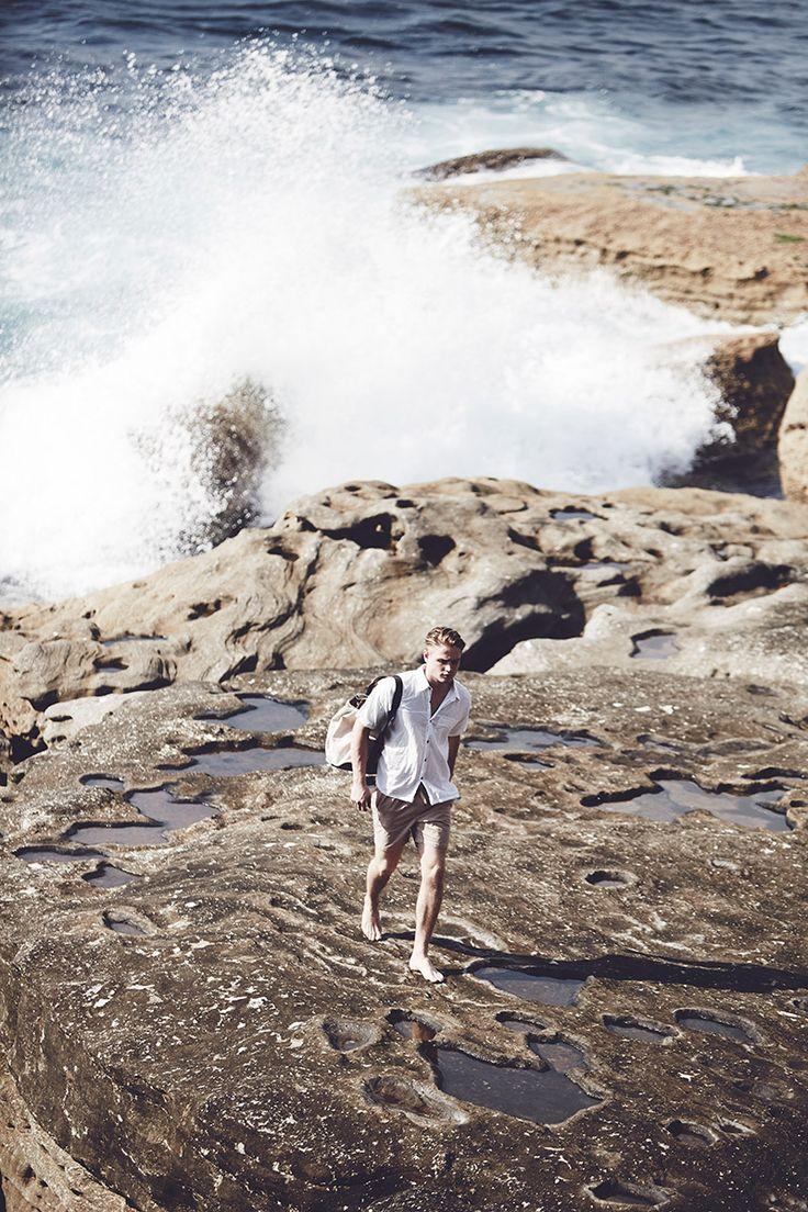 Whitewash - Editorial by Oliver Grand http://www.olivergrand.com/white-wash/   #menstyle #beach #australia #summer #waves #mensfashion