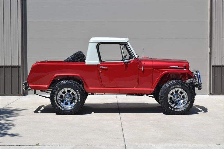 1969 Jeepster Commando Pickup - custom sold at Barrett-Jackson for $55K