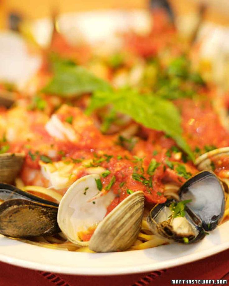 This recipe for frutti di mare sauce is from Sal Scognamillo of Patsy's Italian Restaurant.