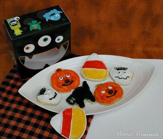 how to decorate halloween sugar cookies