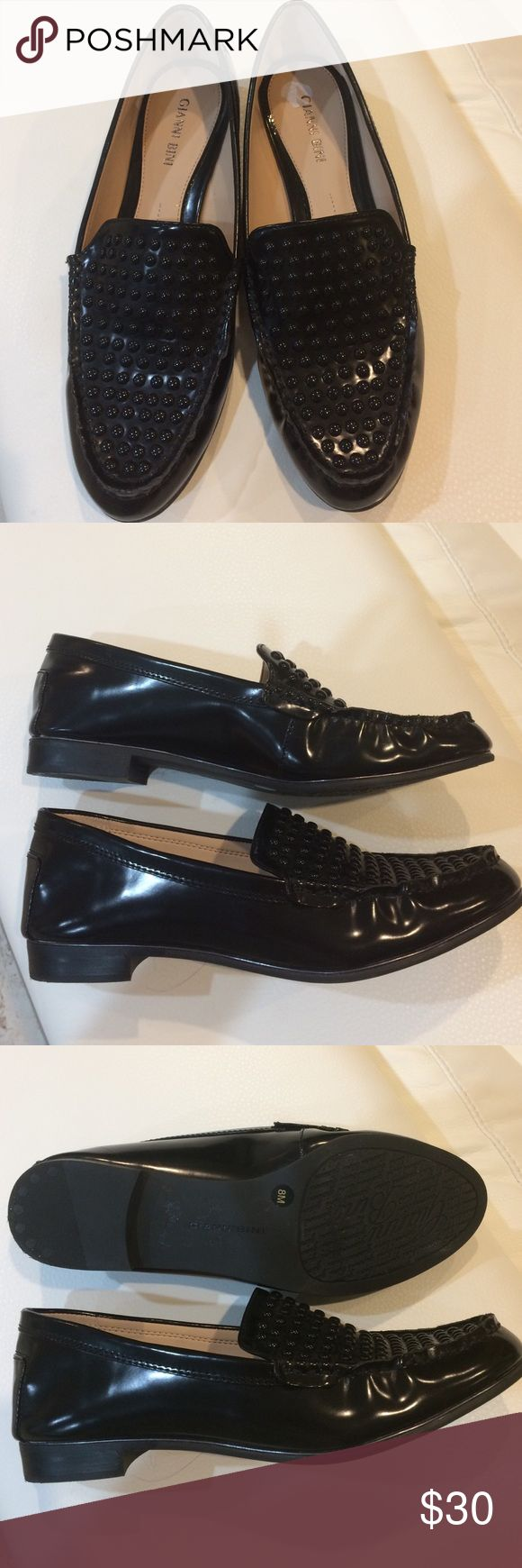 NWOT Gianni Bini studded loafers New Gianni Bini black man made loafer studded. Gianni Bini Shoes Flats & Loafers