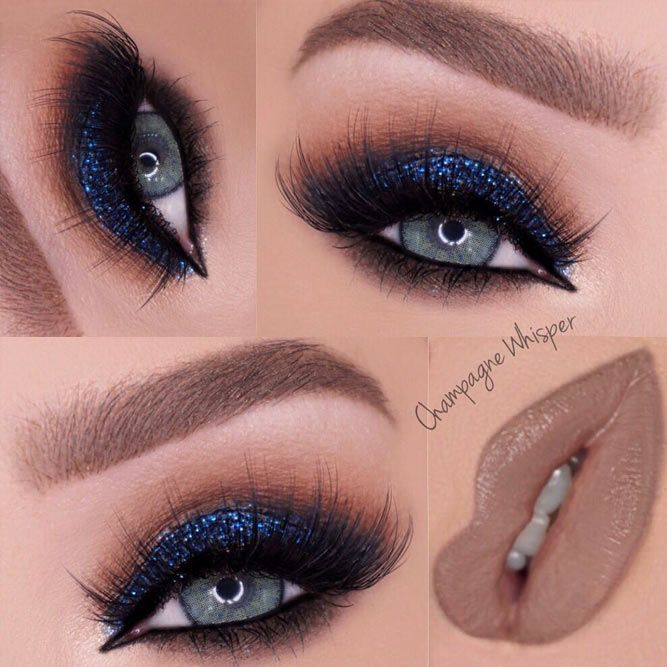 Dark Shades of Blue Eyeshadows for a Deep Look picture 3