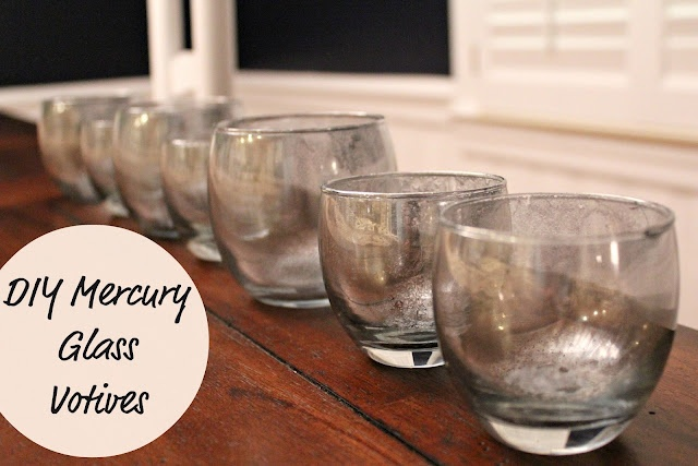 132 Best Images About Faux Mercury Glass On Pinterest