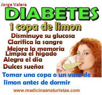 Diabetes: beneficios de 1 copa de limón
