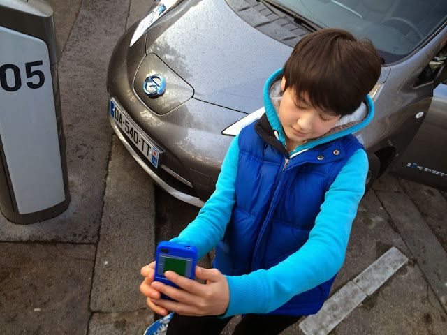 My E-Life Now !: New Nissan LEAF Test Drive in Paris