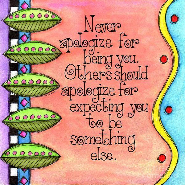 Never Apologize by Debi Payne