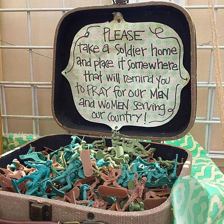 Great idea for memorial day