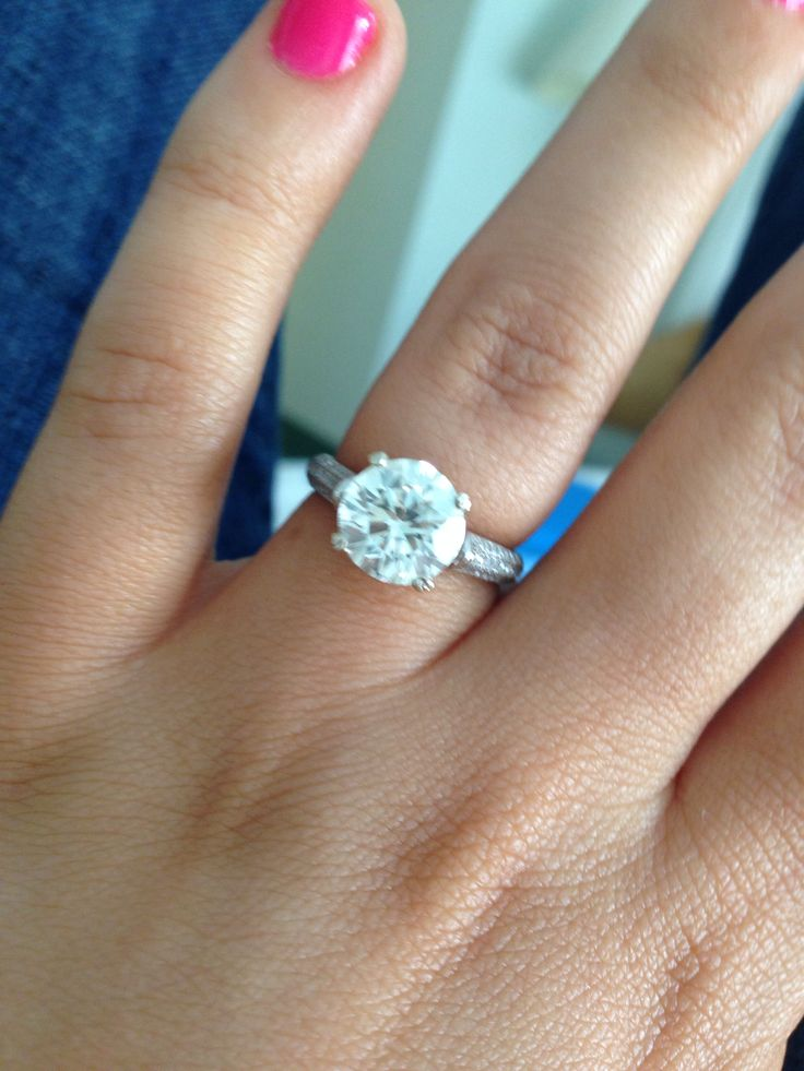 My Engagement Ring   2.5 Flawless Round Brilliant