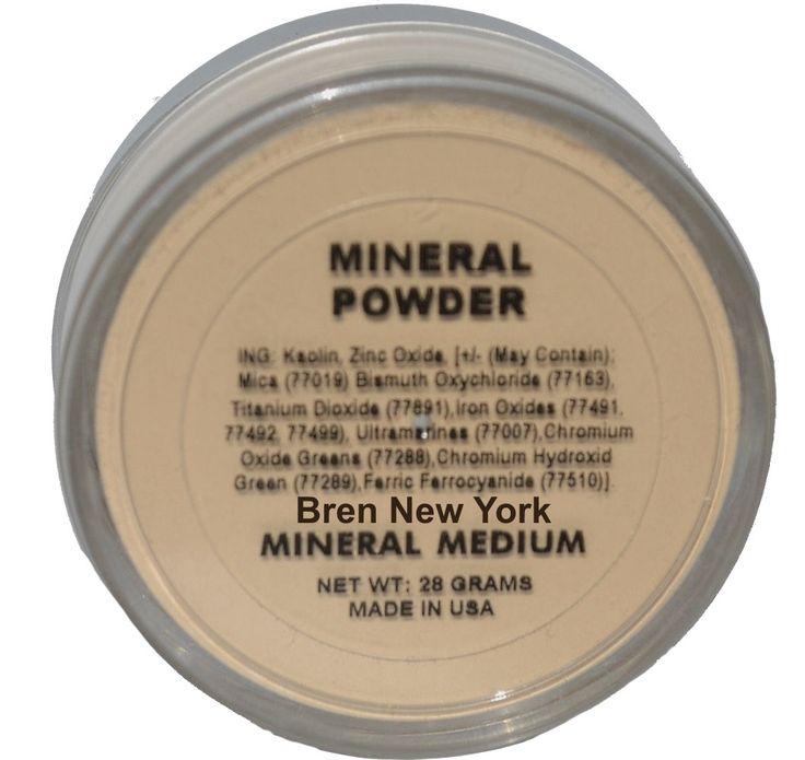Mineral Medium Loose Foundation Powder Paraben Free Exceptionally lightweight Mineral Loose Powder for long lasting coverage with a luminous glow. Helps reduce the appearance of fine lines while promoting a radiant, natural glow.