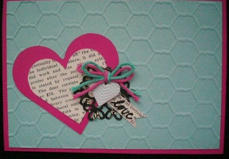 hexagons and hearts - inspired by a card in Australian Simply Cards magazine https://www.facebook.com/kayskards2