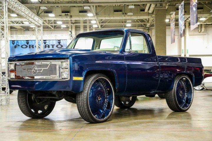 30 Inch Rims On Trucks : Forgiato fest short bed chevy pickup on inch