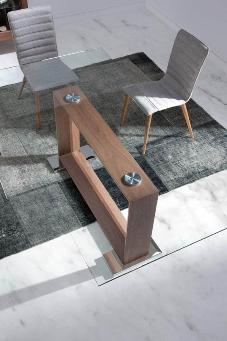 Modern wood table design - Best 25 Glass Dining Table Ideas On Pinterest Glass Dining Room Table Glass Dining Room Sets And Glass Top Dining Table
