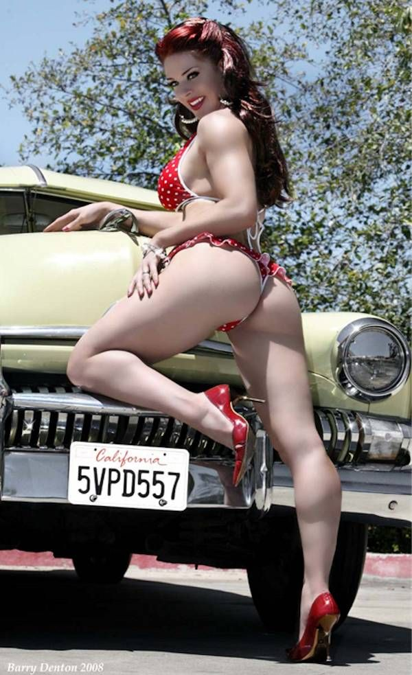 Female rockabilly nude