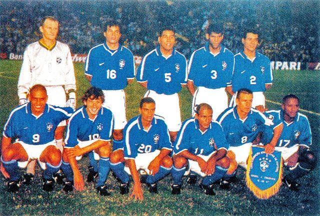 SELECCIÓN DE BRASIL contra Colombia 19/06/1997