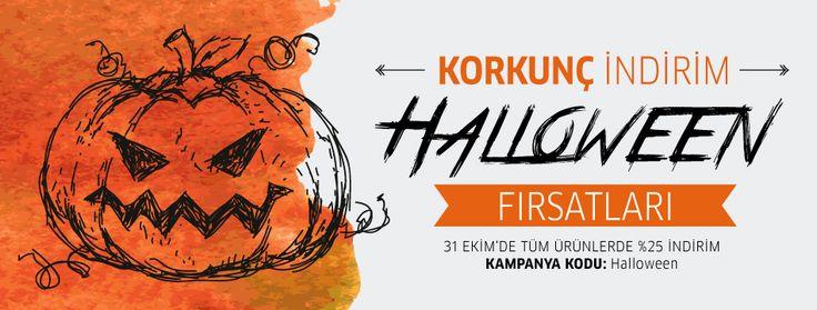 Halloween'de Onlinebasım'da korkunç indirim başlıyor. 31 Ekim'de siparişini verirken kampanya kodunu gir tüm ürünlerde %25 indirimi kap. Herkese Happy Halloween'ler! www.onlinebasim.com #cadilarbayrami #halloween #indirim #matbaa