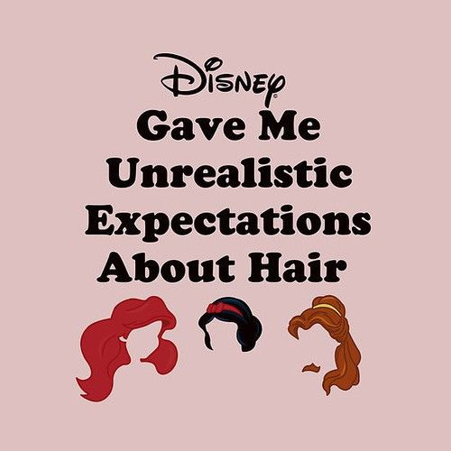 :) but ill try to achieve disney-hair anyway!!!!Sleep Beautiful, Hair Does, Mermaid Hair, Disney Princesses, Quote, So True, Princesses Hair, Prince Charms, True Stories