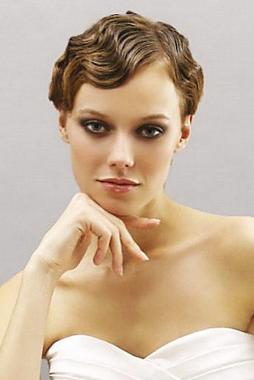 25 Best Wedding Hairstyles for Short Hair 2012 – 2013