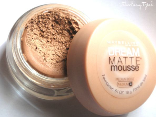 Maybelline Dream Matte Mousse Foundation Review & Demo!