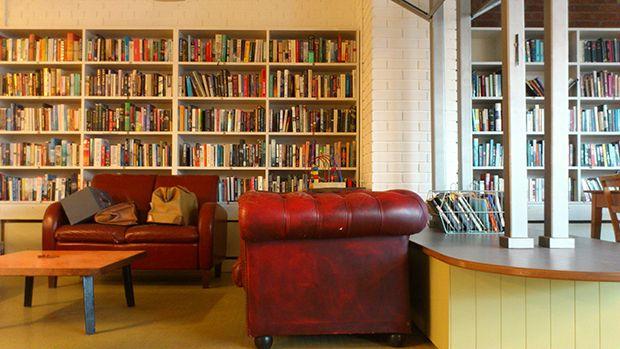 Departure: Used books; coffee; friendly folk.