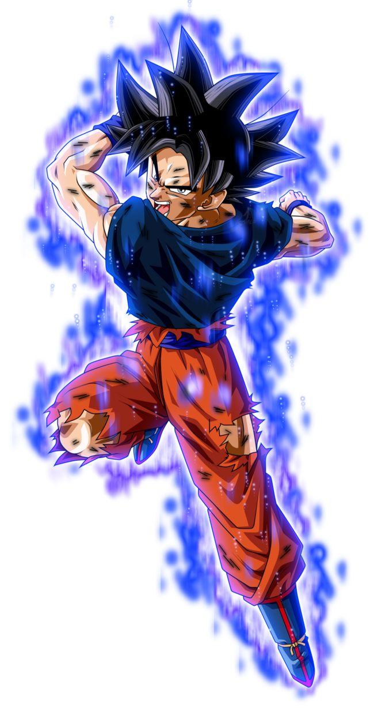 Son Goku Ultra Instinto herido KII by jaredsongohan